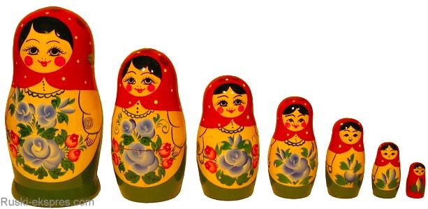 Ruska babuska 7 clanska