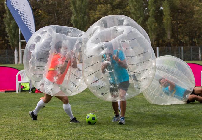 Bubble football croatia 4